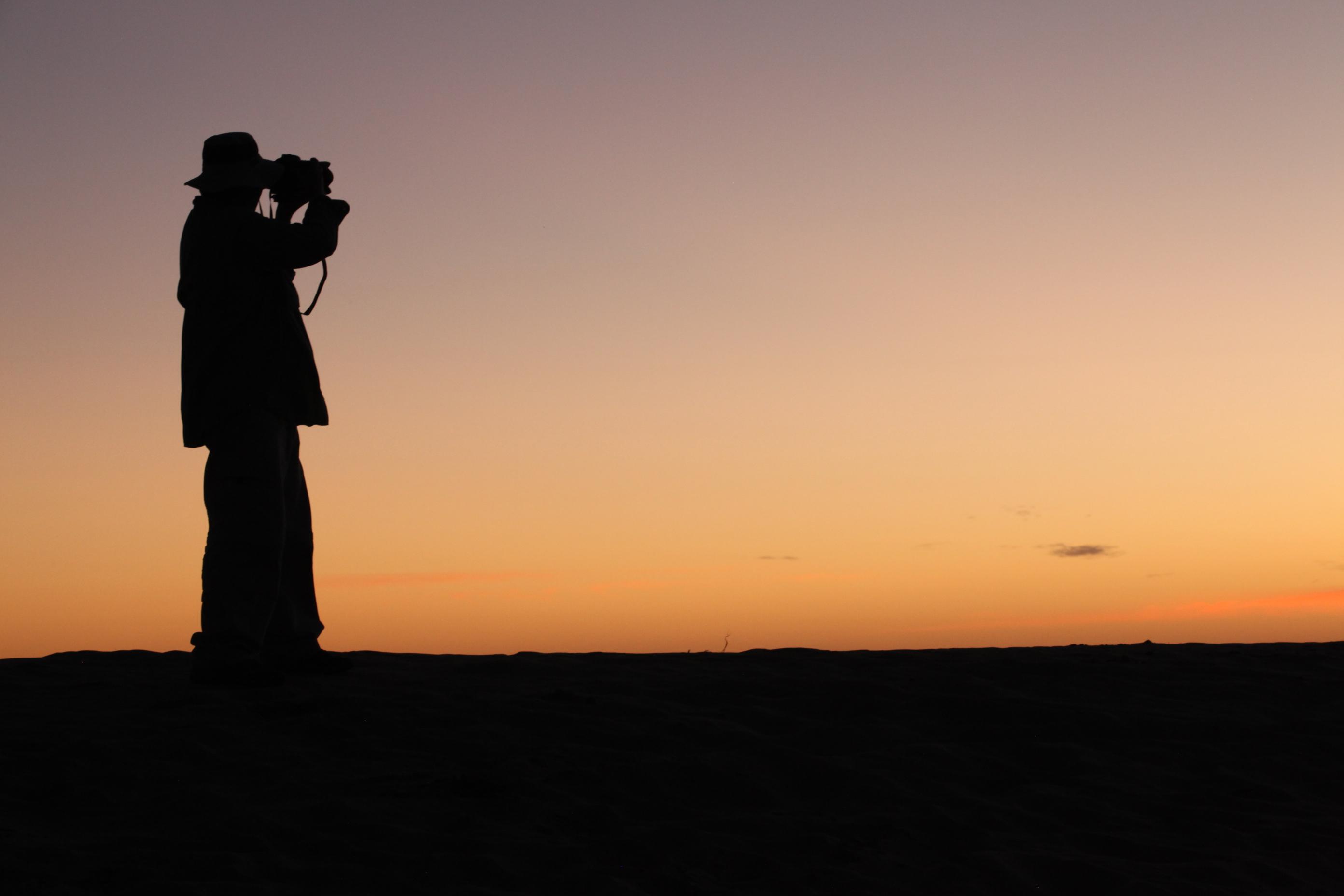 Image of Wes Malkin in Timbuktu